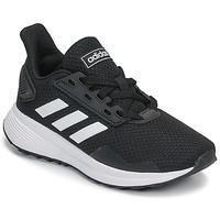 Buty Dziecko Bieganie / trail adidas Performance DURAMO 9 K Czarny / Biały