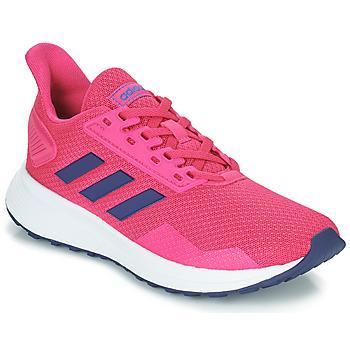 Buty Dziewczynka Bieganie / trail adidas Performance DURAMO 9 K Różowy