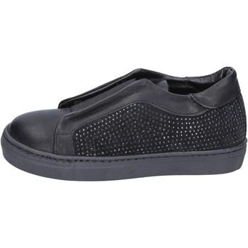 Buty Dziewczynka Tenisówki Holalà BT374 Czarny