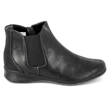Buty Damskie Kozaki i kalosze Boissy Boots 7514 Noir Czarny
