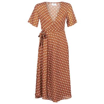 tekstylia Damskie Sukienki długie Betty London KEYLA Brązowy
