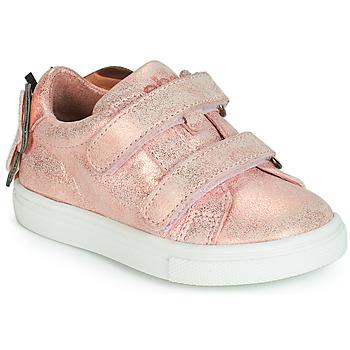 Buty Dziewczynka Trampki niskie Acebo's BAMBU Różowy