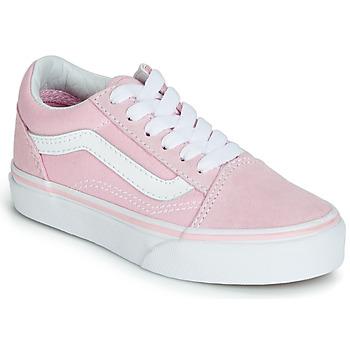 Buty Dziewczynka Trampki niskie Vans OLD SKOOL Różowy