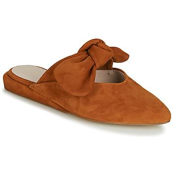 Buty Damskie Klapki Fericelli JILONIE Camel