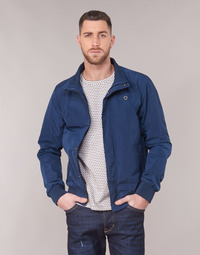tekstylia Męskie Kurtki krótkie Scotch & Soda AMS BLAUW SIMPLE HARRINGTON JACKET Marine