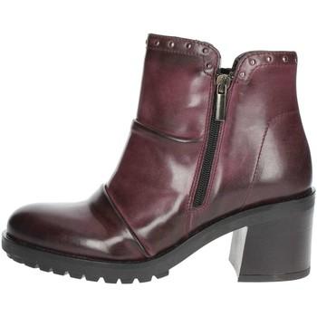 Buty Damskie Low boots Marko' 857020 'Bordeaux