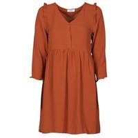 tekstylia Damskie Sukienki krótkie Betty London JABALA Brązowy
