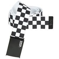 Dodatki Paski Vans LONG DEPSTER WEB BELT Czarny / Biały