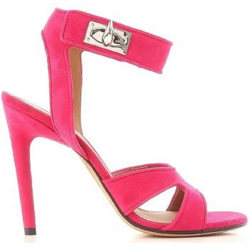 Buty Damskie Sandały Givenchy BE300FE005 675 Różowy
