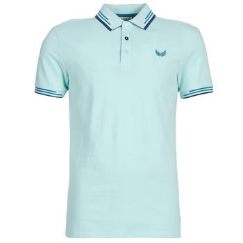 tekstylia Męskie Koszulki polo z krótkim rękawem Kaporal NAYOC Niebieski