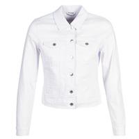 tekstylia Damskie Kurtki jeansowe Vero Moda VMHOT SOYA Biały