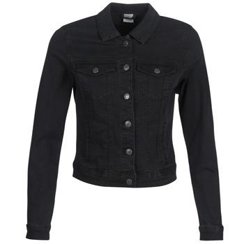 tekstylia Damskie Kurtki jeansowe Vero Moda VMHOT SOYA Czarny