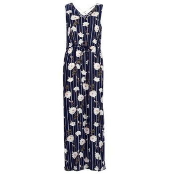 tekstylia Damskie Sukienki długie Vero Moda VMSIMPLY Marine