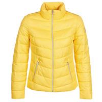 tekstylia Damskie Kurtki pikowane S.Oliver 04-899-61-5060-90G7 Żółty