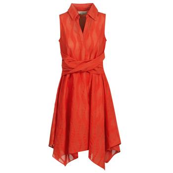 tekstylia Damskie Sukienki krótkie Derhy EMBARCATION Czerwony