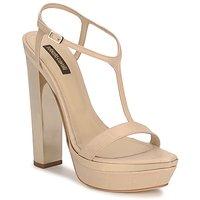 Buty Damskie Sandały Roberto Cavalli RDS735 Beżowy / Nude