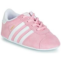 Buty Dziecko Trampki niskie adidas Originals GAZELLE CRIB Różowy
