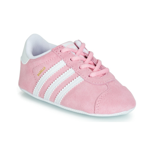 Buty Dziewczynka Trampki niskie adidas Originals GAZELLE CRIB Różowy