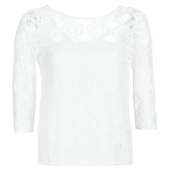 tekstylia Damskie Topy / Bluzki Betty London CONSTANCE Biały