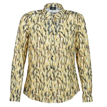 tekstylia Damskie Koszule One Step MONICA Żółty