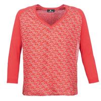 tekstylia Damskie Swetry One Step ROBINA Czerwony