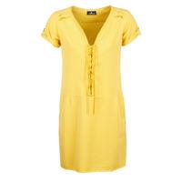 tekstylia Damskie Sukienki krótkie One Step PATRICIA Żółty