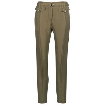 tekstylia Damskie Spodnie z pięcioma kieszeniami Ikks BN22125-56 Kaki