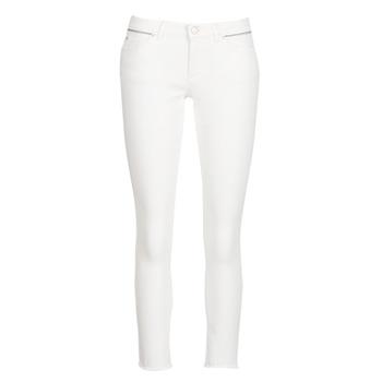 tekstylia Damskie Jeansy slim fit Ikks BN29135-11 Biały