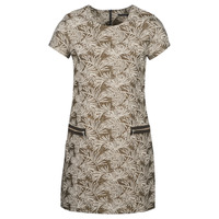 tekstylia Damskie Sukienki długie Ikks BN30165-65 Kaki / Beżowy