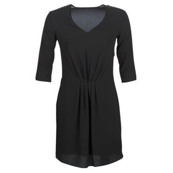 tekstylia Damskie Sukienki krótkie Ikks BN30015-02 Czarny