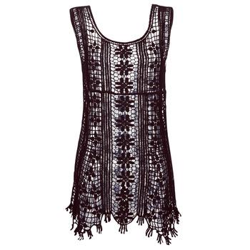 tekstylia Damskie Sukienki krótkie Banana Moon JOSY DREAMLAND Czarny