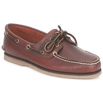 Buty Męskie Buty żeglarskie Timberland CLASSIC 2 EYE Rootbeer / Smooth