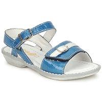 Buty Dziewczynka Sandały GBB CARAIBES FIZZ Niebieski / Biały