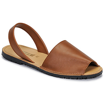 Buty Damskie Sandały So Size LOJA Brązowy