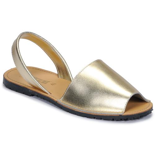 Buty Damskie Sandały So Size LOJA Złoty