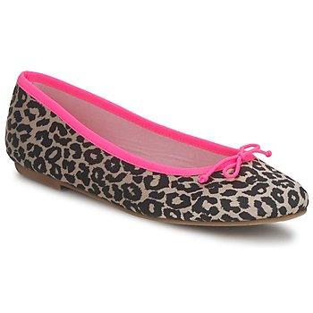 Buty Damskie Baleriny Cara NEONLEOPARD Leopard