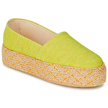 Buty Damskie Espadryle Betty London TROOPIKA żółty