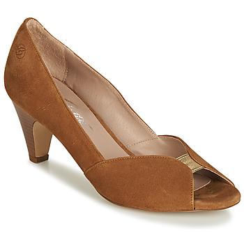 Buty Damskie Czółenka Betty London JIKOTI Camel