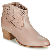Buty Damskie Botki Betty London JIKOTEVE Taupe