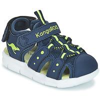 Buty Dziecko Sandały Kangaroos K-MINI Marine / Żółty
