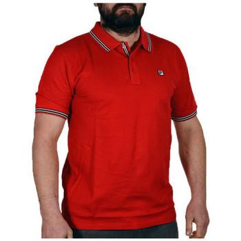 tekstylia Męskie Koszulki polo z krótkim rękawem Fila