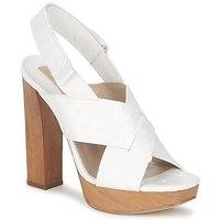 Buty Damskie Sandały Michael Kors MK18072 Biały