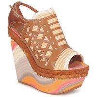 Buty Damskie Sandały Missoni TM22 Brązowy / Pomarańczowy