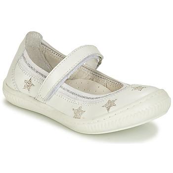 Buty Dziewczynka Baleriny André STELLA Biały