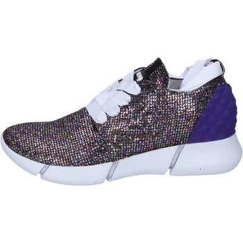 Buty Damskie Trampki niskie Elena Iachi sneakers multicolor glitter BT587 Multicolore