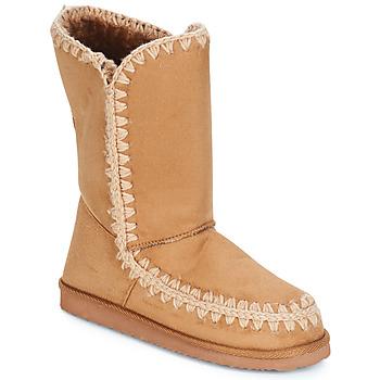 Buty Damskie Kozaki LPB Shoes NATHALIE Camel