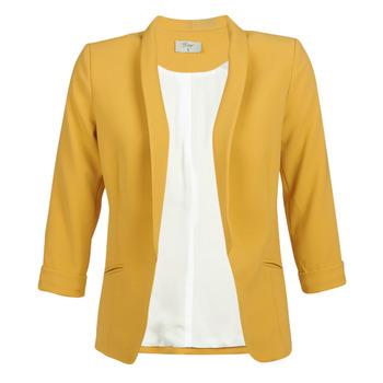 tekstylia Damskie Kurtki / Blezery Betty London IOUPA Żółty