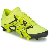 Buty Męskie Piłka nożna adidas Performance X 15.1 FG/AG żółty