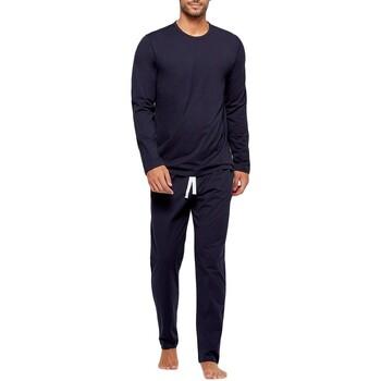 tekstylia Męskie Piżama / koszula nocna Impetus GO60024 039 Niebieski