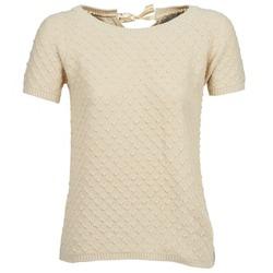 tekstylia Damskie Swetry Betty London CLOU Beżowy